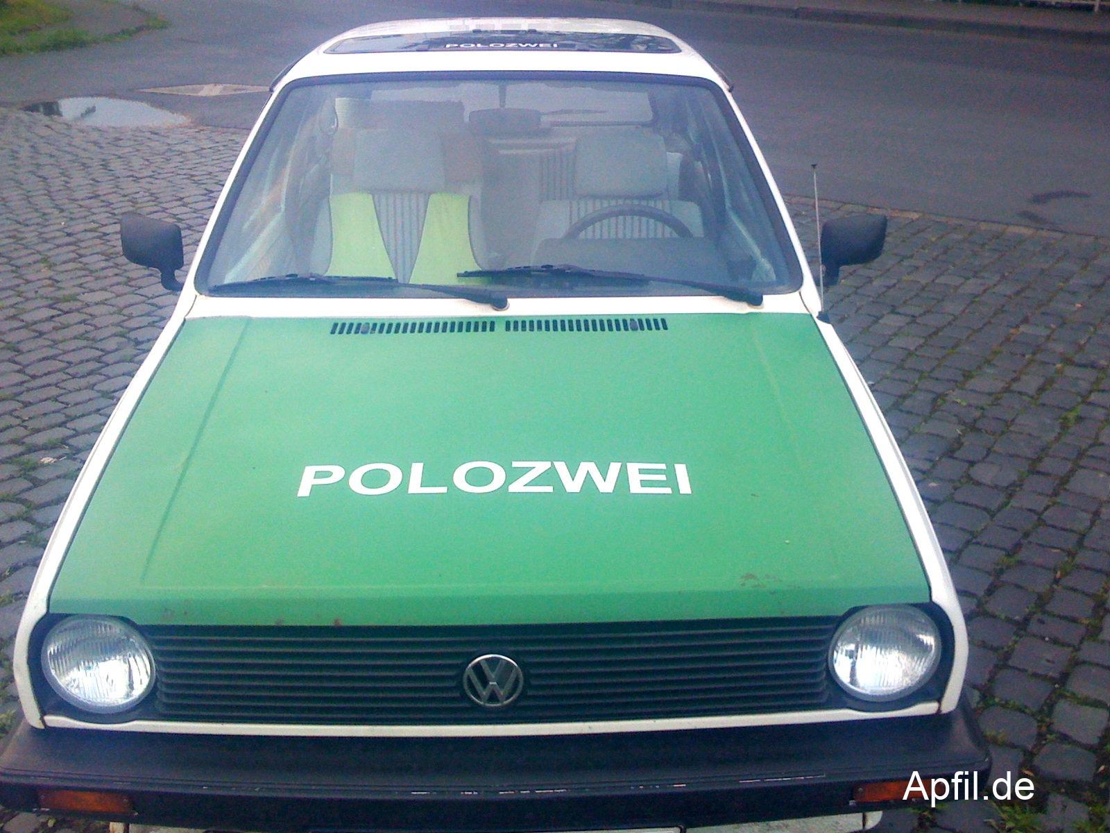 VW Polozwei (Volkswagen Polo)