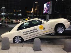 Abhebendes Taxi