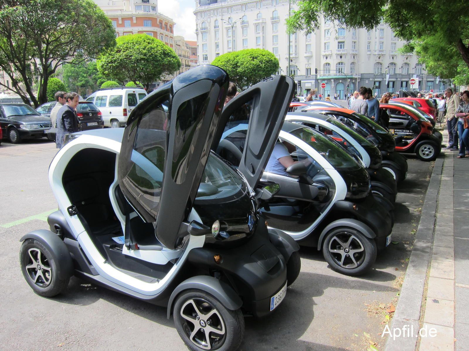 Renault Twizy in Madrid
